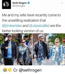 Seth Rogen Meme - seth rogen asethrogen me and my wife have recently come to the