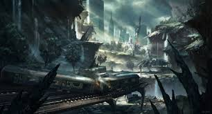 crysis 2 hd wallpapers trains fantasy art concept art crysis 2 4324x2346 wallpaper high