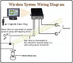 wireless lcd display with 2 backup sensors system