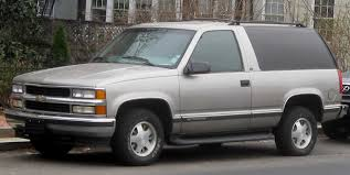 file chevrolet tahoe 2 door jpg wikimedia commons