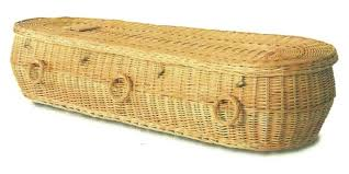 wicker casket hometown caskets