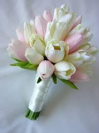 tulip bouquets tulip bouquets wedding classic tulip bridal bouquet artificial