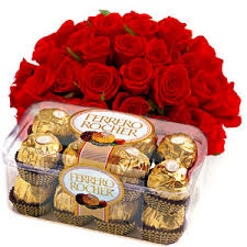 flowers and chocolate flower and cakes to kerala cake with flower combo online kerala