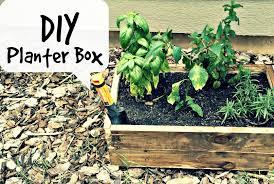 Diy Planter Box by Diy Planter Box Pallet Wood Youtube