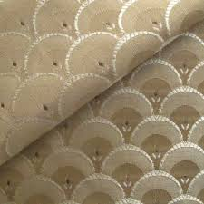 Upholstery Fabric Free Samples Art Deco Art Nouveau Beige Flat Weave Curtain And Upholstery