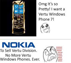 Nokia Phones Meme - techin5 nokia to sell vertu division ruins hopes of a vertu