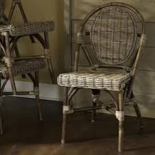 Grey Bistro Chairs Dark Navy Kaliko French Bistro Chairs Set Of 2 239 98 Sold By