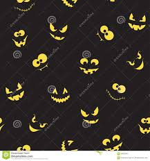 dark halloween background creepy faces seamless background stock vector image 58022642