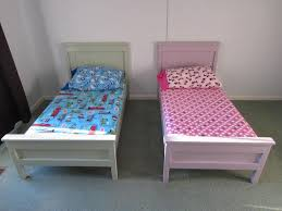 Farmhouse Bed Plans Ana White Farmhouse Toddler Beds Diy Projects