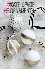 craft kate spade inspired ornaments hi sugarplum