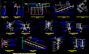 Handrail Construction Detail Dwg Projects 3d Projects Cad Tools 3ds Max Dxf