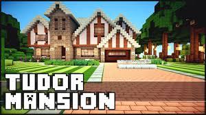 Tudor Architecture Minecraft Tudor Mansion W Yacht U0026 Airfield Youtube