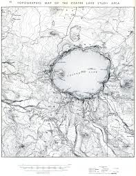 Crater Lake Oregon Map by Lunar Geological Field Conference Guide Book Crater Lake Geology