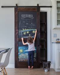 Decorative Chalkboard For Home by Chalkboard Barn Door Doors House And Sliding Barn Doors