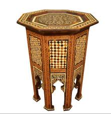moroccan table moroccan side table moroccan tea table e kenoz