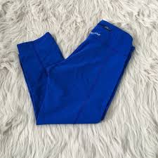 64 off under armour pants royal blue ua workout leggings from
