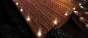 led recessed outdoor lights for stairs decks and landscaping