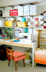 Sewing Room Decor Interior Craft Sewing Room Ideas Displaying Craft Storage Design