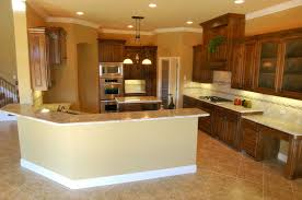 Kitchen Laminate Flooring Ideas Kitchen Wood Tile Floor Ideas Cone Black Hanging Lamp White Stone