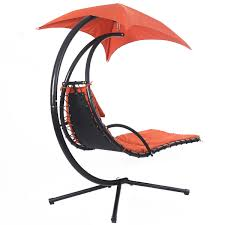 Outdoor Dream Chair Hanging Chaise Lounge Chair With Canopy Hammocks Outdoor