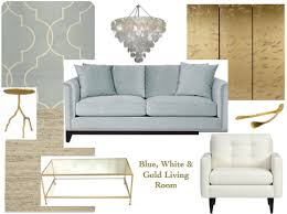 Blue And Gold Home Decor Cove U0026 Grey White Blue And Gold Living Room I Like The Color