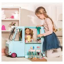 Kids Girls Dolls 4 Wheeler Our Generation Sweet Stop Ice Cream Truck Light Blue Target