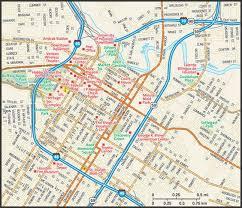 houston map convention center houston tx map houston