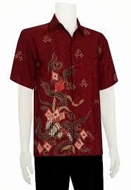 desain baju batik untuk acara resmi baju batik pria modern terbaru murah online toko baju batik online