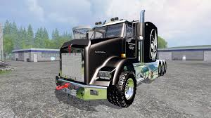 buy kenworth t800 kenworth t800 triaxle sleeper for farming simulator 2015