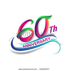 celebrating 60 years birthday 60th stock images royalty free images vectors