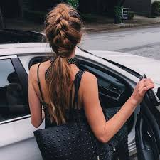hair braided into pony tail 30 chic braid into ponytail styles that will spice up your look