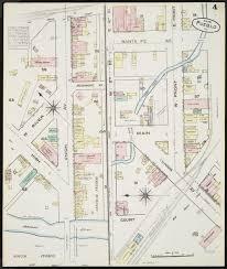 Map Of Pueblo Colorado 1883 sandborn map category 1883 historic pueblo