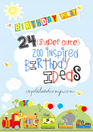 zoo birthday party for kids