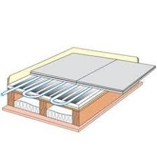 floating floor underfloor heating meze