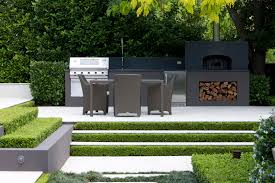 Backyard Classic Professional Charcoal Grill by Peter Fudge Classic French Garden Landscape Design And