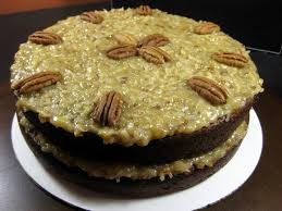 karis u0027 kitchen a vegetarian food blog 2 layer german chocolate cake