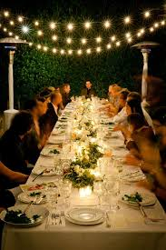 Backyard Birthday Party Ideas For Adults by Best 25 Outdoor Dinner Parties Ideas On Pinterest Dinner