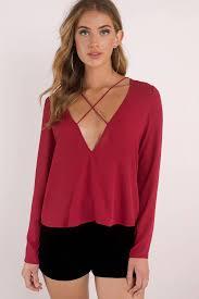 blouses for women sheer blouses sleeveless blouses tobi us