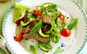 thai beef noodle salad recipe food to love