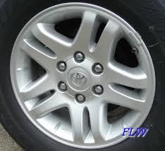 2003 toyota tundra wheels 2003 toyota tundra oem factory wheels and rims