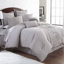 elegant pleating embellishes the oversized marilyn comforter to