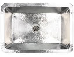 Linkasink Hammered Stainless Steel Kitchen Sinks - Hammered kitchen sink