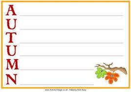 autumn worksheets