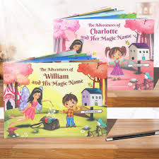 My Magic Name Personalised Story Books A Fab Gifts And Presents For Notonthehighstreet