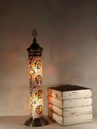 Mosaic Floor Lamp Old Fashion Street Lamp The Dancing Pixie