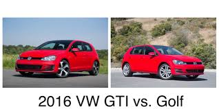 golf volkswagen gti 2016 volkswagen golf vs 2016 volkswagen golf gti ancira