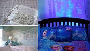 faire la chambre 18 idées pour faire une chambre sur le thème de la reine des neiges