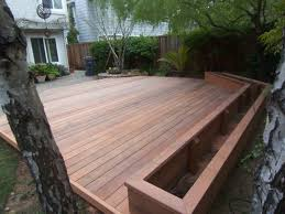 decking ideas for gardens floor charming wooden railing design with redwood decking ideas