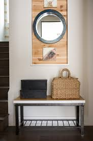Small Hallway Bench by Interior Dazzling Creative Brown Wooden End Table Ideas With