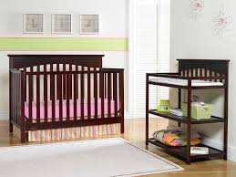 Graco Convertible Crib With Changing Table Graco Hayden Convertible Crib Cherry Baby